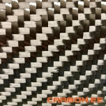 12K Twill 650g/m² carbon fiber fabric without glue 1m²